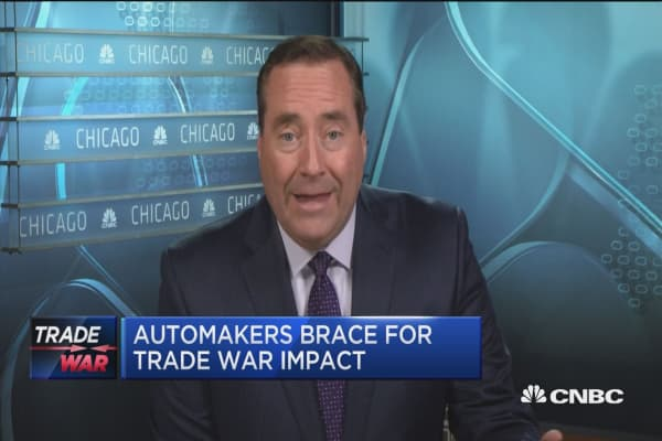 Automakers brace for trade war impact