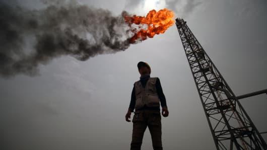 TOPSHOT-IRAQ-OIL-GAS