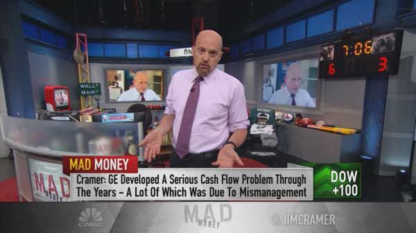 Cramer: GE's stock is finally a buy