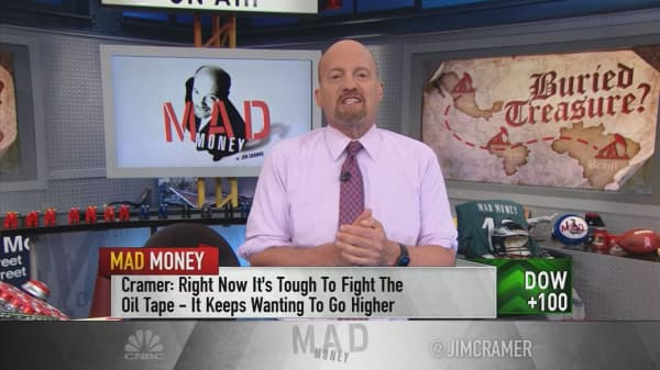 Cramer: The biggest problem in the oil space is creating some great investments