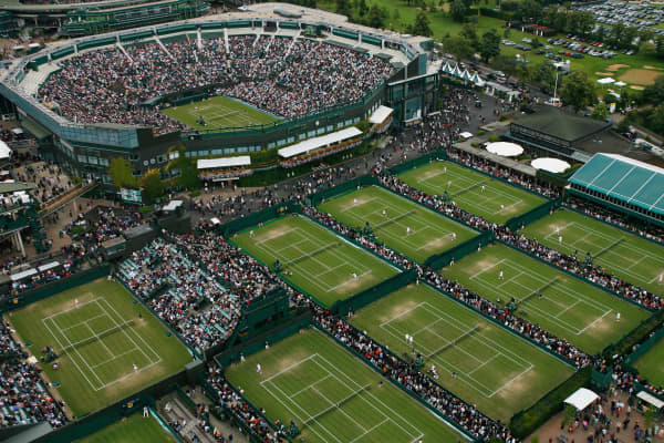 Wimbledon remains one of the few major UK sporting events where you can still buy premium tickets on the day of play