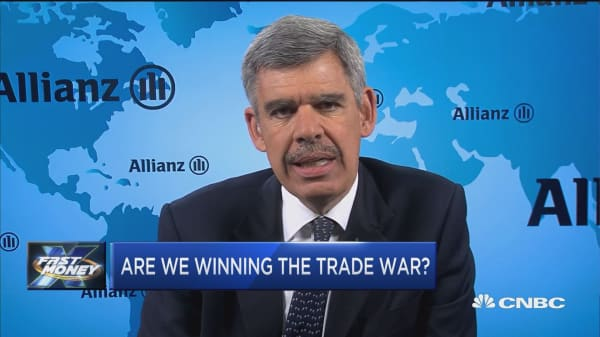USA is poised to win a trade war, says Allianz' Mohamed El-Erian