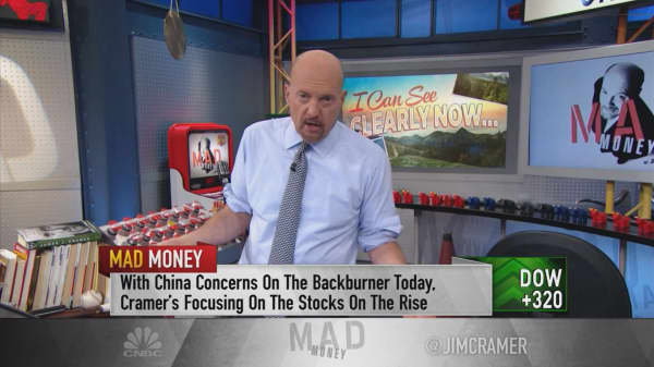 Cramer on the real cause of bank stock weakness