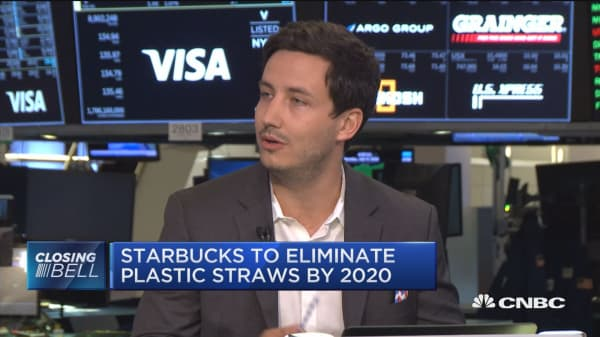 Eco friendly packaging exec talks Starbucks' straw elimination plan