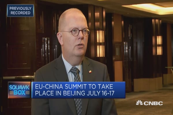 The use of tariffs is 'very blunt' and 'dangerous': EUCCC