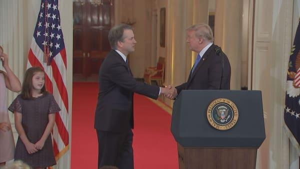 President Trump selects Brett Kavanaugh for Supreme Court nominee