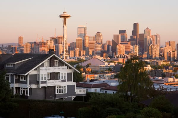 Seattle's housing market is experiencing explosive growth as employers boost hiring.