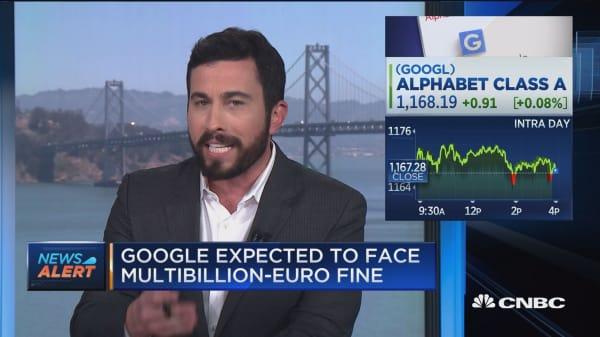 EU expected to punish Google with multibillion-euro fine