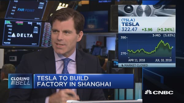 New Shanghai factory does not mean better growth for Tesla, experts say