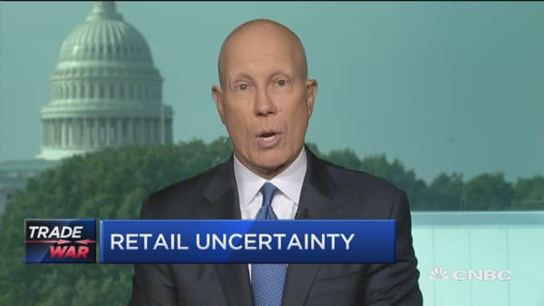 Tariffs don't work and they're not going to work this time, says NRF CEO