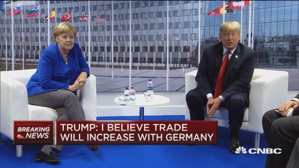 President Trump on Germany, 'We have a tremendous relationship with Germany'