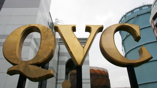 The QVC headquarters are seen in London, U.K., Monday, Febru
