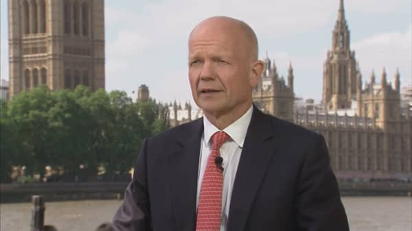 European security is in the interest of the United States: Fmr. U.K. Foreign Secretary Hague