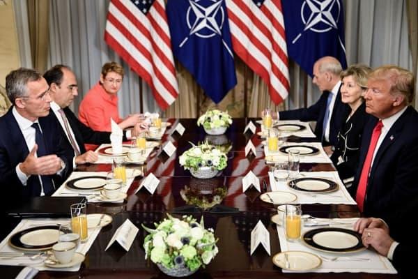 Trump demands NATO countries meet defense spending goals 'immediately'