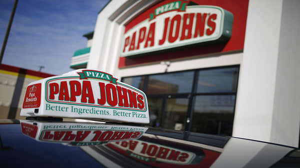 Papa John's shares crater after report that founder used a racially charged slur