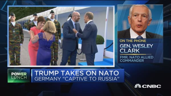 Trump takes on NATO: Growing tensions with EU