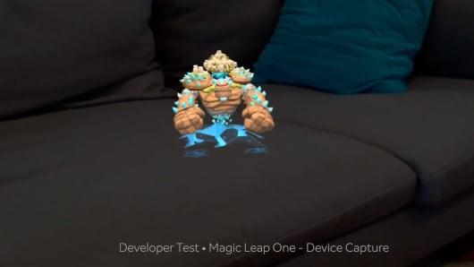 Magic Leap's gollum character