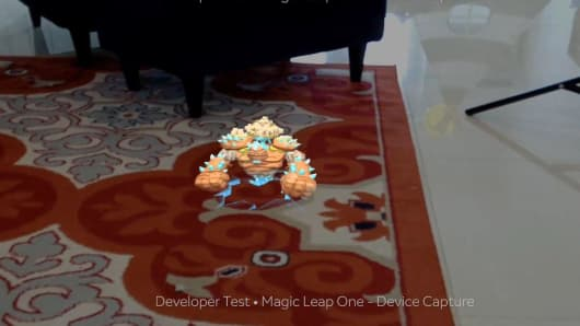 Magic Leap's gollum demo