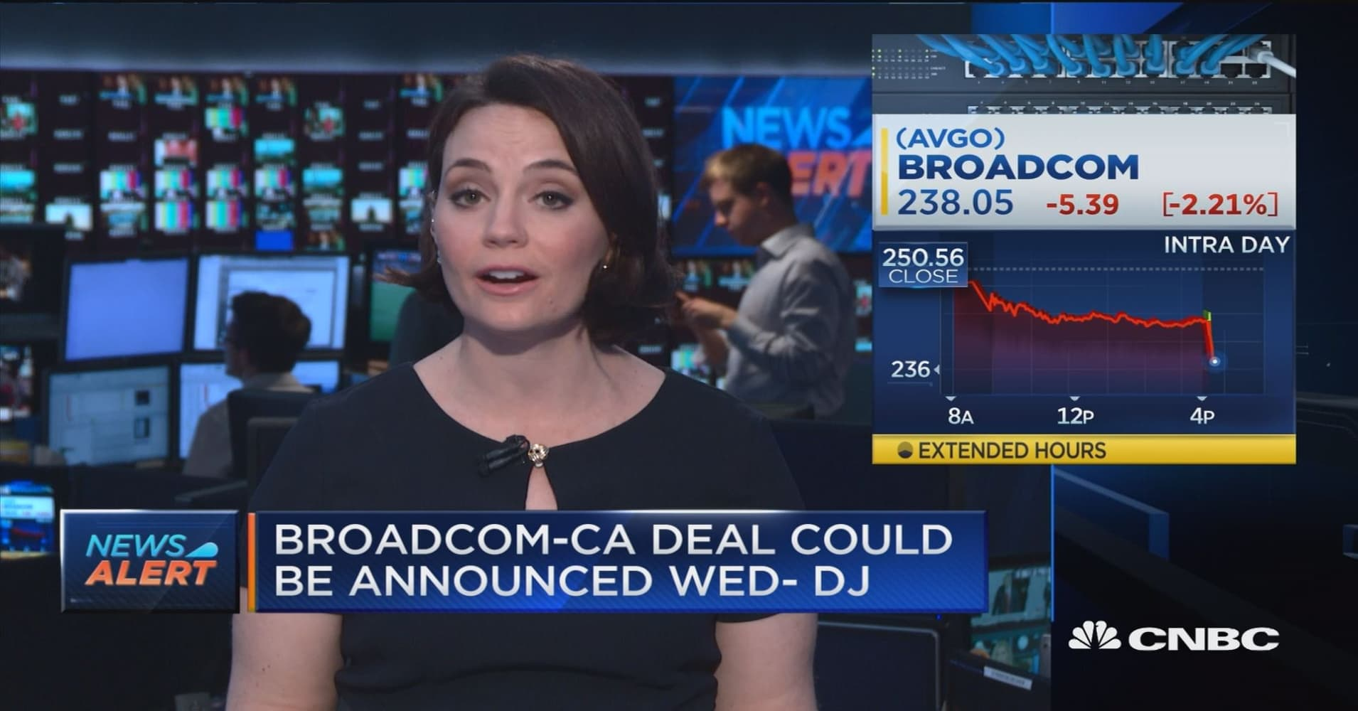 Broadcom reaches deal to acquire CA Technologies for $18.9 billion in cash