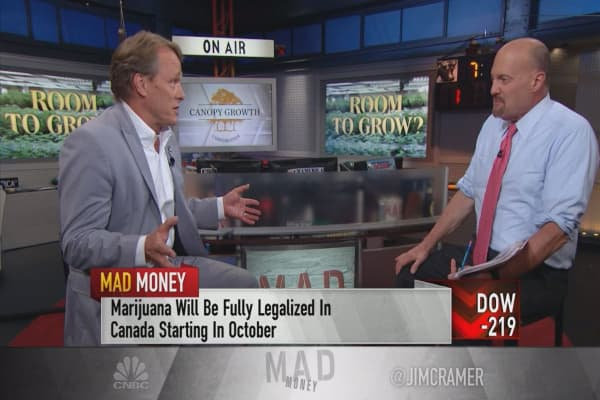 Canopy Growth CEO: Marijuana drinks may come to Canada in 2019
