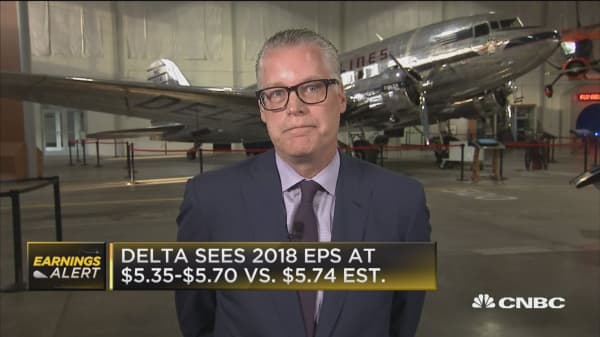 Delta CEO: Long term outlook strong as more people than ever fly