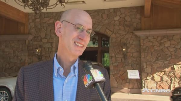 NBA Commissioner weighs in on media mergers