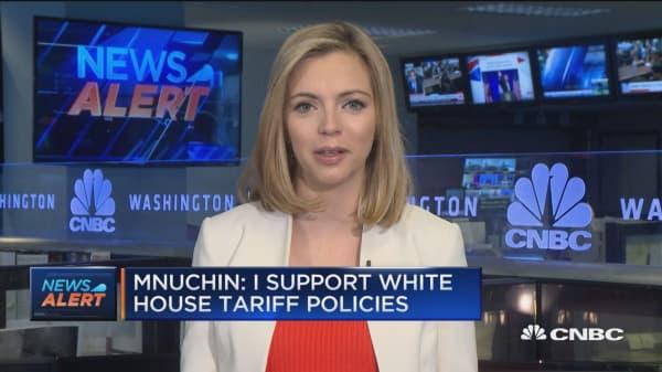Mnuchin: I support White House tariffs