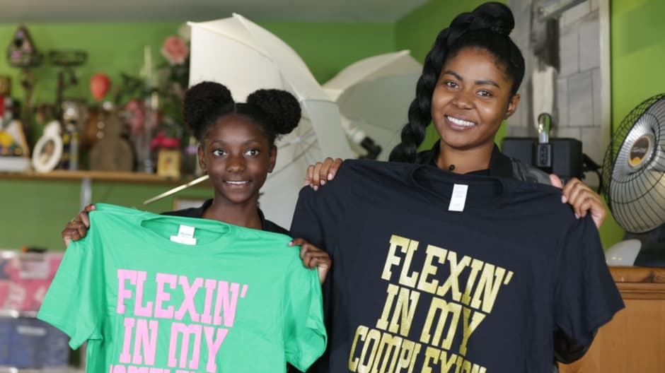 How a 10-year-old launched a T-shirt sensation worn by Alicia Keys and Lupita Nyongo to combat racism