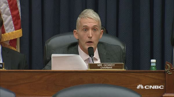 Gowdy tells Strzok: 'I don't give a damn what you appreciate.'