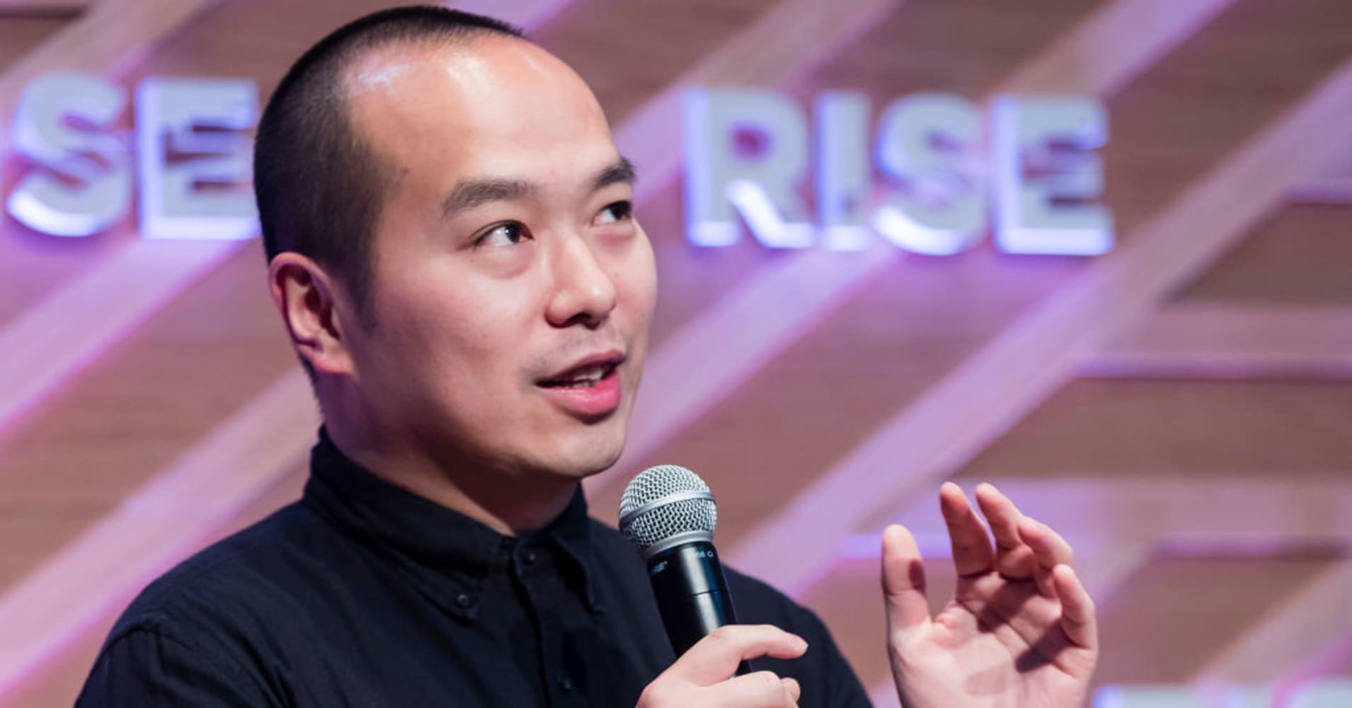 Ray Chan, co-founder and chief executive officer of 9GAG, attends the Day 3 of the RISE Conference 2018 at Hong Kong Convention and Exhibition Centre on July 12, 2018 in Hong Kong, Hong Kong.