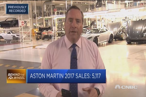 Aston Martin weighs up IPO as it pushes wider line-up