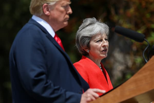 Theresa May: President Trump has been clear about the challenges we face