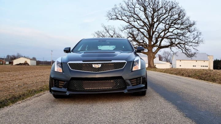 The 2018 Cadillac Ats V Is One Of The Best Sports Sedans You Can Buy