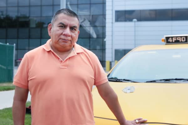 Manuel Morocho, NYC Yellow Cab driver for 20 years.