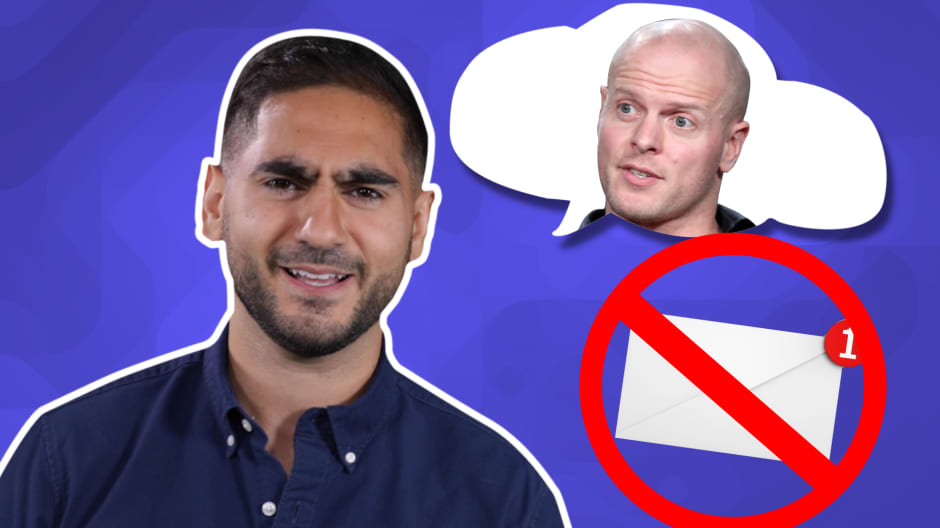 Avoid the emailing mistakes this 25 year old made when cold emailing Tim Ferriss