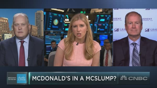 McDonald's is having its worst year since 2012, and it could get worse
