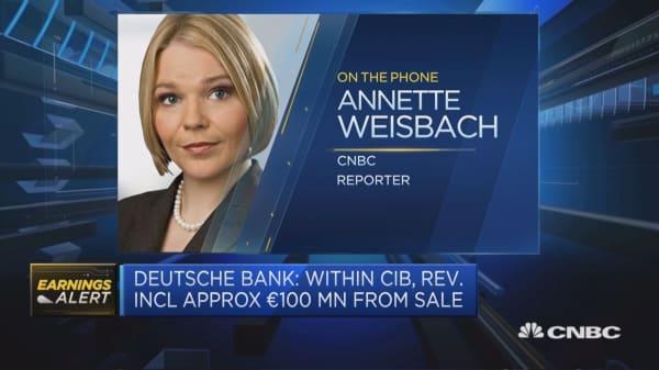 Deutsche Bank posts earnings beat
