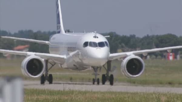 Farnborough Airshow: Bombardier CEO
