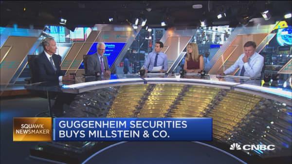 Guggenheim Securities buying Millstein and Company
