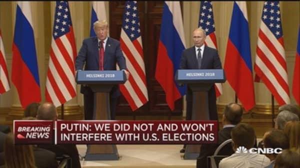 Trump: There was no collusion, I didn't know Putin