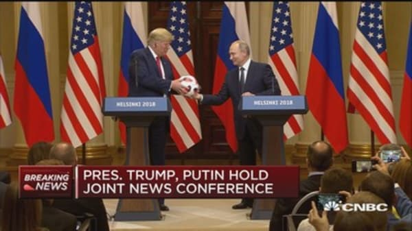 Trump: US Russia militaries have gotten along better than our political leaders