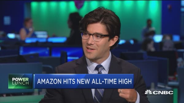 Amazon stock hits all-time high: Primed for more gains?