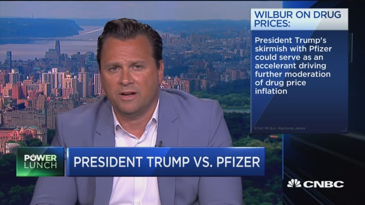 Drugmakers will think twice on price increases after Trump's Pfizer skirmish, says analyst