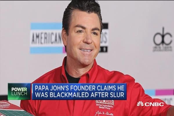 Papa John's founder: I was blackmailed