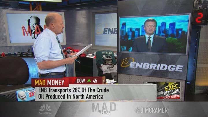 North America has 'a tremendous competitive advantage in energy,' Enbridge  CEO says