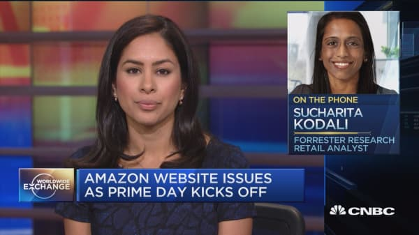 Sucharita Kodali talks about Amazon's Prime Day glitch