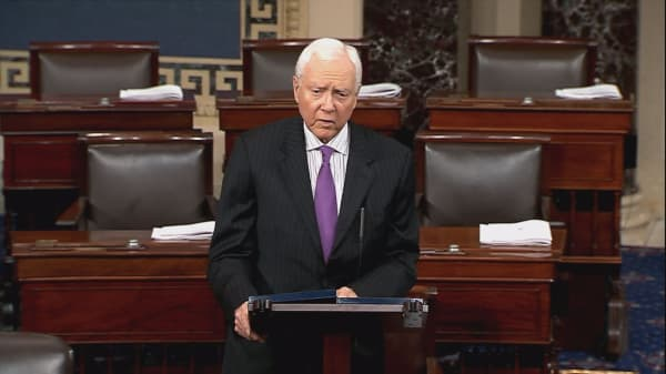 Key Republican supporter Orrin Hatch speaks out on Trump administration tariff policy
