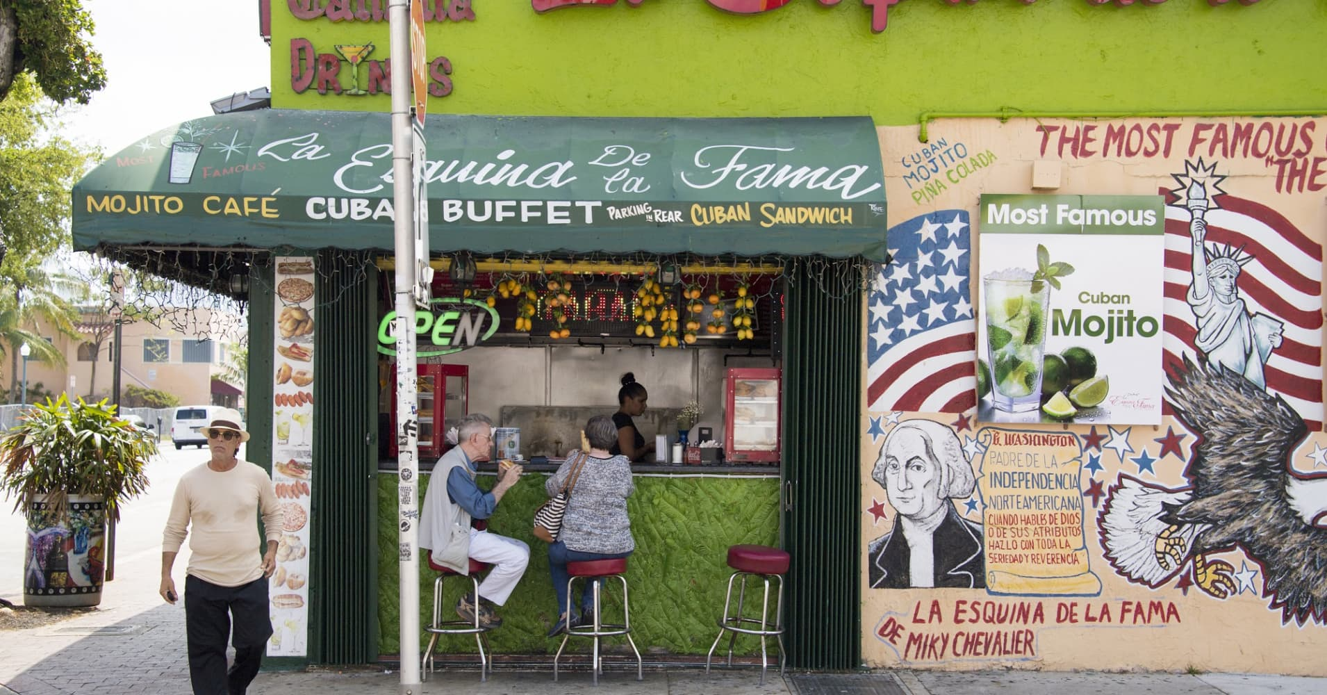 Little Havana in Miami, Florida