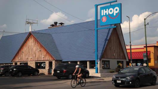 An IHOP restaurant in Chicago, Illinois.