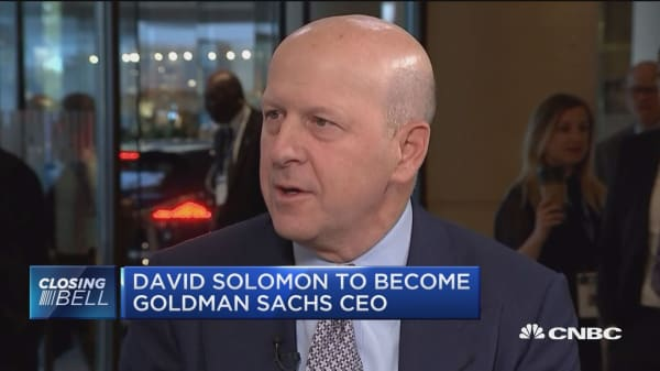 What to expect from David Solomon's rise to Goldman Sachs CEO